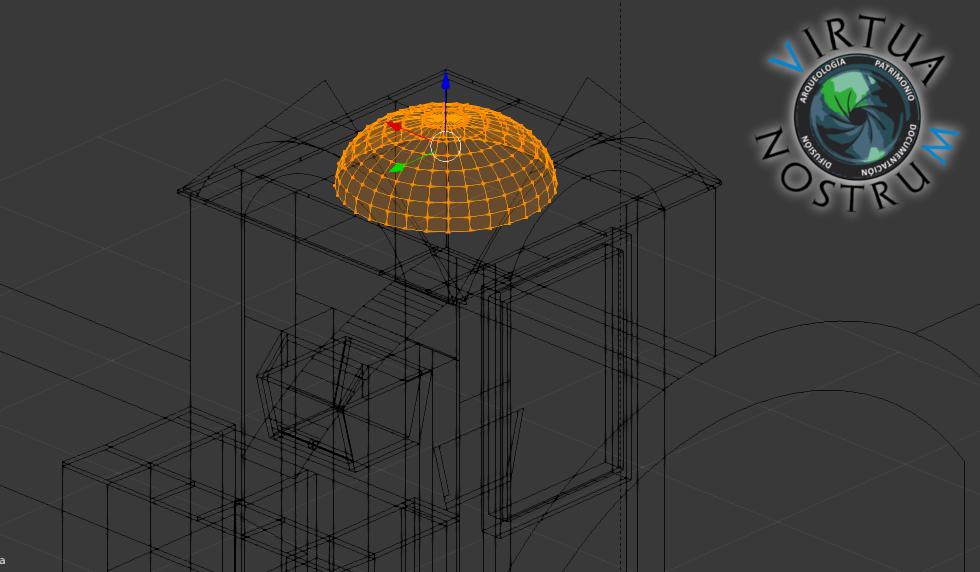 Modelado para la reconstrucción virtual de un aljibe histórico